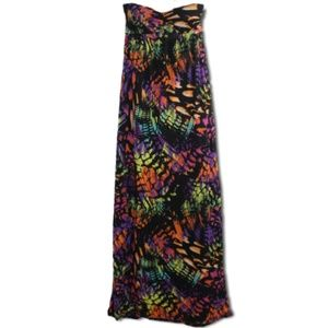 (M) Ambiance- Strapless Maxi Dress